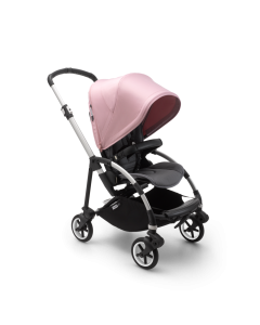 Bugaboo bee6 complete - Aluminum / Grey / Soft Pink